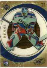 2005-06 Upper Deck Ice #137 Henrik Lundqvist RC - Serial #0249/1999 - Rangers