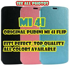 Original Pudini® Xiaomi Mi 4i Mi4i Flip Cover Case PU Leather Back Pouch Plastic