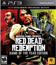 Red Dead Redemption GOTY PS3 PLAYSTATION 3 GAME USED IN GOOD CONDITION