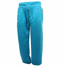 B0829 pantalone tuta uomo SHOE. turchese trousers men