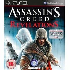 ASSASSIN'S CREED REVELATIONS PS3 PLAYSTATION 3 GAME USED IN GOOD CONDITION