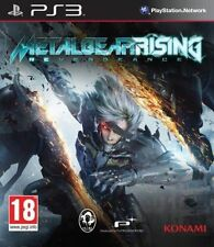 Metal Gear Rising Revengeance PS3 PLAYSTATION 3 GAME USED IN GOOD CONDITION