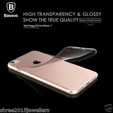 BASEUS FOR iPhone 7  TRANSPARENT ULTRA THIN SOFT TPU PROTECTIVE BACK CASE