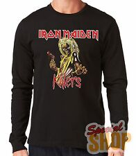"LONG-SLEEVED T-SHIRT LONG""IRON MAIDEN-KILLERS-HEAVY METAL""LONG SLEEVE"