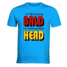 I'M NOT GOING BALD I'M GETTING MORE HEAD MENS FUNNY T SHIRTS OLD RETIRED MENS
