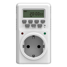 Electric Timer Spina Dell'interruttore Programmabile Potere Su/Off Per