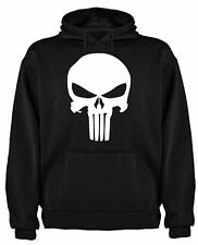 FELPA THE PUNISHER TESCHIO SKULL FUMETTI T-SHIRT MAGLIETTE HOODIE SIL CCp002