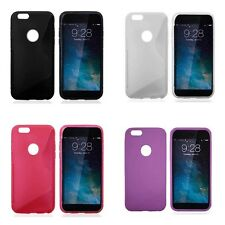 APPLE IPHONE 7 S-LINE SILICONE GEL CASE PLUS FREE SCREEN PROTECTOR