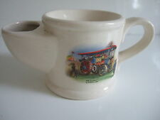 Wade Shaving Mug Featuring Her Majesty Steam Engine By Burrell 1897