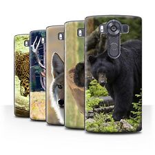 STUFF4 Phone Case/Back Cover for LG V10/H900/H901/VS990 /North America Animals