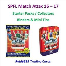 SPFL / Scottish Match Attax 16 - 17: Starter Pack / Binders & Collectors Tins