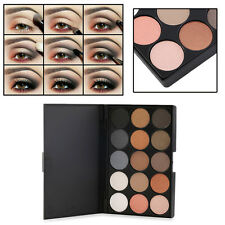 Professional 15 Colors Matte Shimmer Eyeshadow Palette Makeup Cosmetic kit L8
