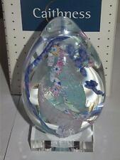 """Caithness 4"""" Paperweight WEDDING DAY Limited Edition  6 /100 Made Scotland Boxed"""