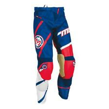Moose Racing 17 Motocross/VTT Enfants Pantalon Enduro M1 bleu / rouge / blanc