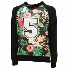 5350Q felpa uomo GIANNI LUPO nero multicolor sweatshirt men