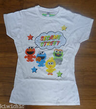 BNWT Ladies SESAME STREET BABIES Muppet Cotton T-shirt Top - Size Small & Large