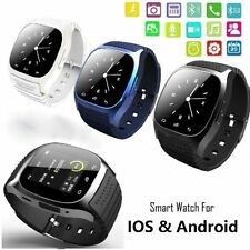 M26 Bluetooth Smart Wrist Watch Phone For Phone Android Samsung Smartphone Blue
