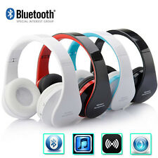 Folding! Wireless Bluetooth Headset Stereo Headphone Earphone for Mobile Phone