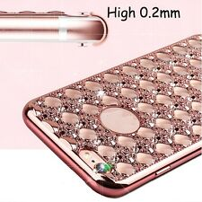 Bling Glitter Shockproof Rubber Diamond Soft TPU Case Cover for Phone 6/6s Plus