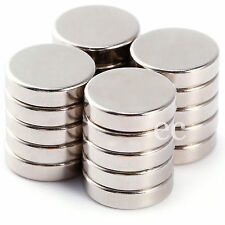 10mm x 2mm Very Strong NdFeb Rare Earth Neodymium Thin Disc Round Magnets N35