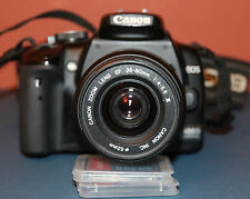 Canon EOS 400D DSLR with EF 35-80 mm MK3 F4-5.6 zoom with instructions