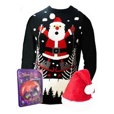 Christmas Jumper and Santa Hat with Cadbury Tree Decorations