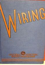 Vintage General Electric Supply Corporation Catalog 37W 1936 Wiring Pricing
