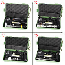 8000lm G700 X800 Tactical Zoomable XML T6 LED Military Flashlight Torch Lamp Kit