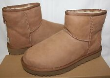 UGG Women's Classic Mini II 2 Chestnut Suede boots New With Box!
