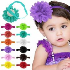 Kids Girl Baby Toddler Flower Headband Hair Band Accessories Headwear Gift