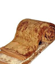 Self Design Mink Blanket Double Bed - Xtra warm for harsh winters