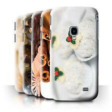 STUFF4 Phone Case/Back Cover for Samsung Galaxy Beam 2/G3858 /Christmas Food