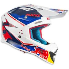 Motorradhelm Kini Red Bull Crosshelm Competition Navy Weiß #9761 Cross Helm