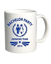 Tazza 11oz MAT0004 Bachelor Party 2014 Team Maglietta