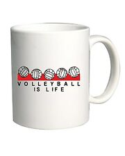 Tazza 11oz OLDENG00293 volleyball is life