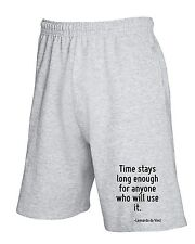 Pantalone Tuta Corto CIT0237 Time stays long enough for anyone who will use it.