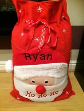 Personalised Christmas santa Ho Ho Ho Sack
