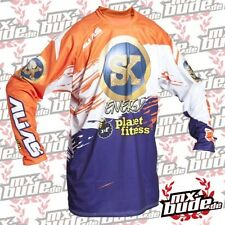 Alias Jersey A2 SK Energía orange-púrpura Motocross Enduro Cross MTB MX Quad FMX