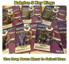 Babylon 5 Key Ring Space Ships - Small Keyring's - Sci-Fi Collectable New