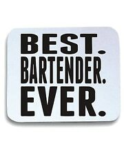 Tappetino Mouse Pad BEER0185 Best Bartender Ever