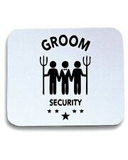 Tappetino Mouse Pad MAT0039 Groom Security Maglietta