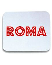 Tappetino Mouse Pad OLDENG00223 retro roma red