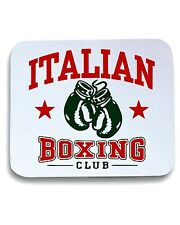Tappetino Mouse Pad TBOXE0024 italian boxing white