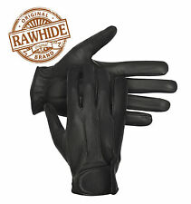 Classic Mens Retro Driving Gloves Genuine Soft Leather Fleece Lined Top Quality