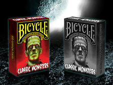 CARTE DA GIOCO BICYCLE CLASSIC MONSTERS,poker size,limited edition