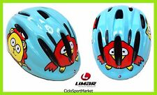 "Casco Limar Ciclismo Ideale Bambino/Bambina 124 Superlight ""Puppies"" Taglia S"