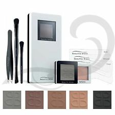 Beautiful Brows Eyebrow Shaping Kit Powder Stencil Highlighter Brown Grey Black