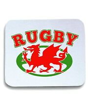 Tappetino Mouse Pad TRUG0077 wlaes rugby ball logo