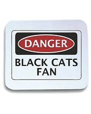 Tappetino Mouse Pad WC0311 DANGER SUNDERLAND, BLACK CATS FAN, FOOTBALL FUNNY FAK