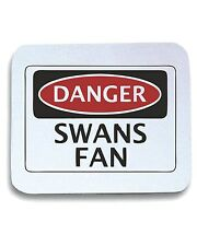 Tappetino Mouse Pad WC0312 DANGER SWANSEA CITY, SWANS FAN, FOOTBALL FUNNY FAKE S